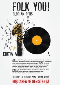 Program Folk You! Florian Pittiș 2014