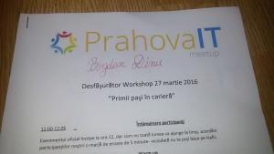 Cum a fost la workshop-ul PhIT Community
