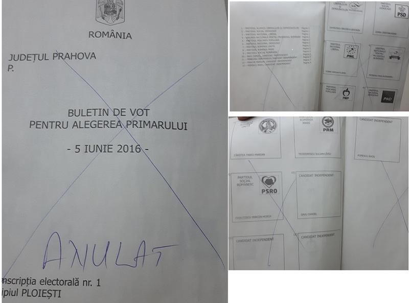 buletin anulat vot ploiesti