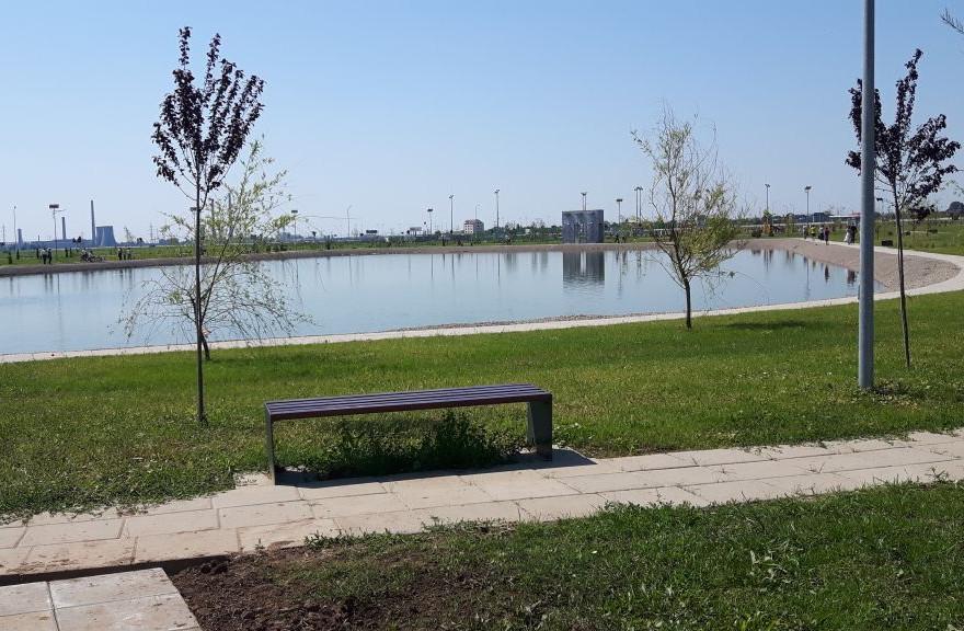 lac artificial parc