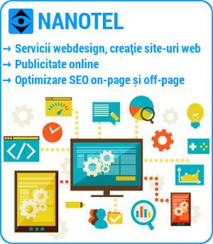 nanotel servicii webdesign ploiesti